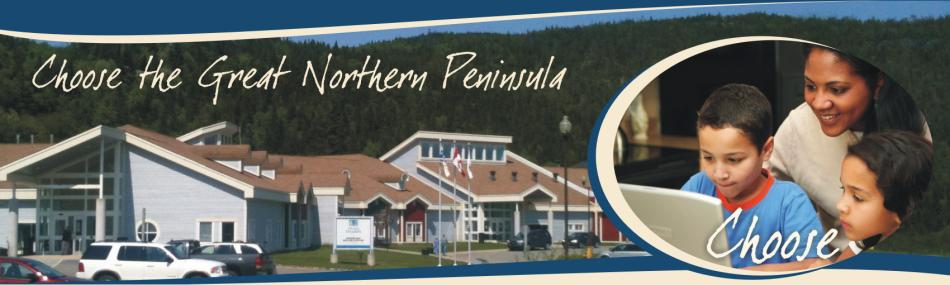 Choose the Great Northern Peninsula